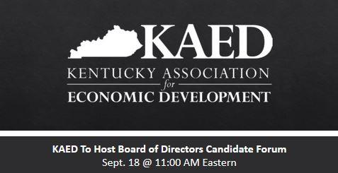 KAED 2020 Board of Directors Candidate Forum